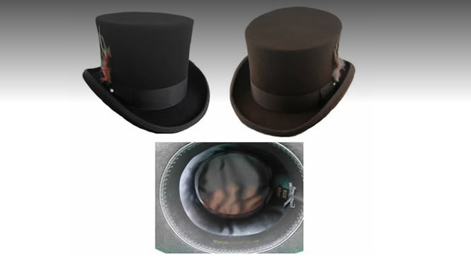 High Quality Australian Wool Top Hats