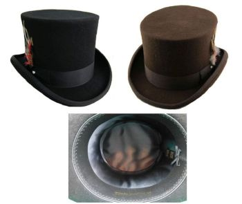 A Australian Wool Top Hat - High Quality