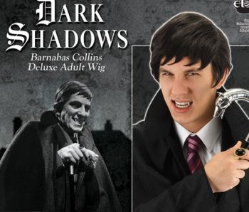 Dark Shadows Licensed Barnabas Collins Wig