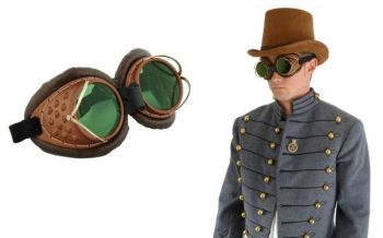 Steampunk Machinists Goggles/Glasses
