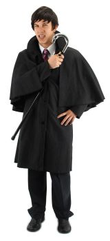 Dark Shadows Licensed Barnabas Collins Inverness Cape-Coat by Elope
