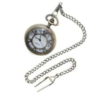Steampunk Deluxe Pocket Watch � Brass Finish - Costume Prop