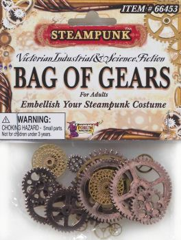 Bag of Gears – Costume Decoration Accessory