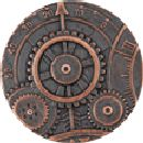 Steampunk Button - Mechanism - Antique Copper Finish 1 5/8""