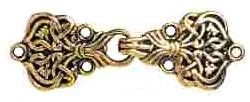 Ornate Antigue Gold Clasp