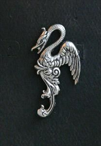 Phoenix Pewter Pin