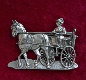 Driving Pin - Solid Pewter