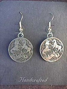 Celtic Horse or Epona Earrings - Solider Pewter