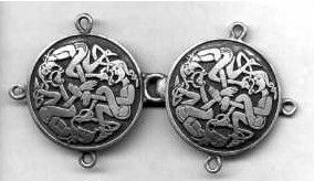 Celtic Knight or Elf Clasp