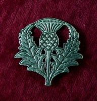 Scottish Thistle Pin