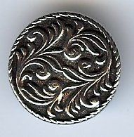 Dale Middels Pewter Button 20MM - 3/4""