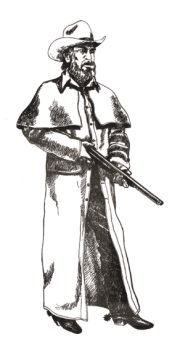 1800s Range Coat Pattern