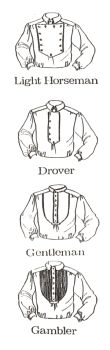 1800s Western Heritage Shirt Pattern