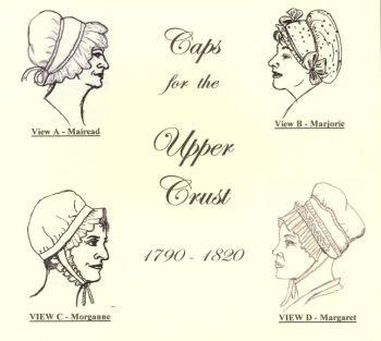 1720 – 1820 Caps for the Upper Crust Pattern