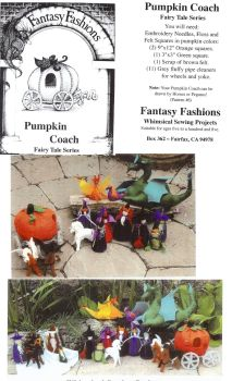 Whimsical Sewing Projects - Pumpkin Coach (Fairy Tale Series) Pattern