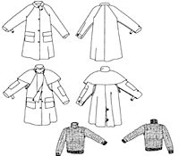 Child's Australian Drover's Coat Pattern