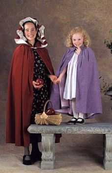 Kinsale Cloak for Young Maidens Pattern