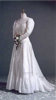 Edwardian Bridal Gown Pattern