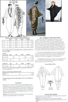 Poiret Cocoon Coat Sewing Pattern