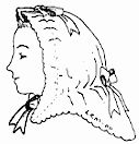 1850s to 1860's Red Riding Hood Pattern by Miller's Millinery Patterns