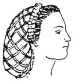 1850's to 1860s Net for Hat Pattern by Miller's Millinery