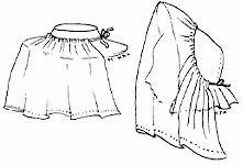 1800s Traveling Veils Pattern