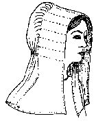 1800-1870's Slat Bonnet Pattern by Miller's Millinery