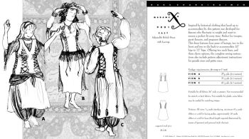 Adjustable Beledi Dress Pattern