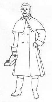1750-1800 Mens' Greatcoat Pattern