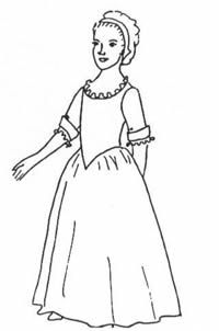 Girl's Gown and Shift Pattern