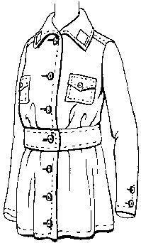 1917-1919 May Manton Fashion Co.'s  Girl's and Small Woman's Uniform Pattern by Past Patterns