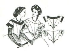 1860's Ball Gown Bodice Pattern