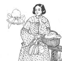 1800's Victorian Sunbonnet Pattern by Past Patterns