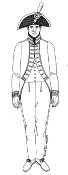 1804 U.S. Army Issue Artillery Coat Pattern