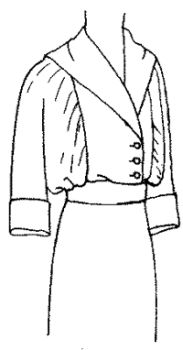1913 Misses' and Small-Sized Women's Blouse
