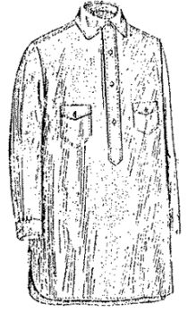 1920 Men's and Boy's Outing or Negligee Shirt