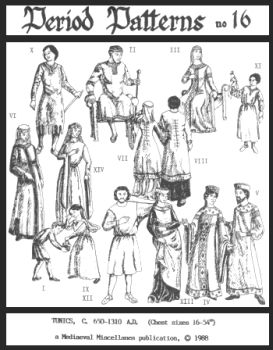 650-1310 Long and Short Tunics Pattern