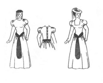 Kirtle (Kyrtle) Style A