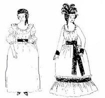 1765-1795 Summer Chemise Gown Pattern