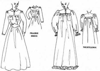 f4dc9cb313 Patterns of Time Prairie Dress or Victorian Nightgown Pattern ...