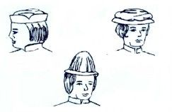 14th through 16th Century Men's Headwear Pattern