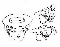 18th C. Colonial Hat by Wingeo
