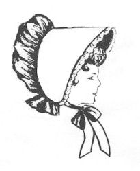 Sunbonnet- Woman's and Girl's