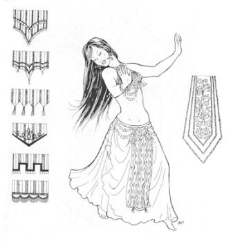 Parvaneh's Panels Pattern