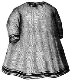 1896 Apron for Girl 4-6 Years Pattern
