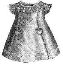 1875 Slip for Girl 1-3 Years Pattern