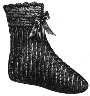 1891 Bedroom or Over-Shoe Pattern