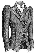 1893 Riding Habit Pattern