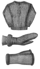 1869 3 Ladies Knitted Items Pattern