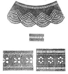 1869 4 Knitted Items Pattern